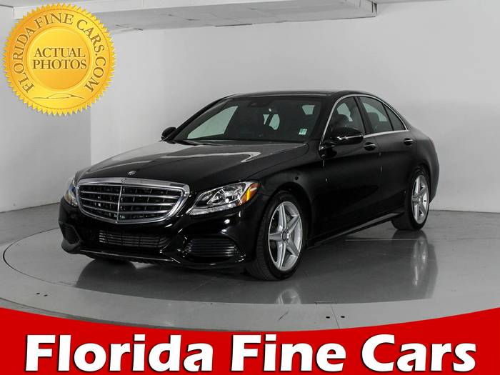 Used MERCEDES-BENZ C CLASS 2016 WEST PALM C300