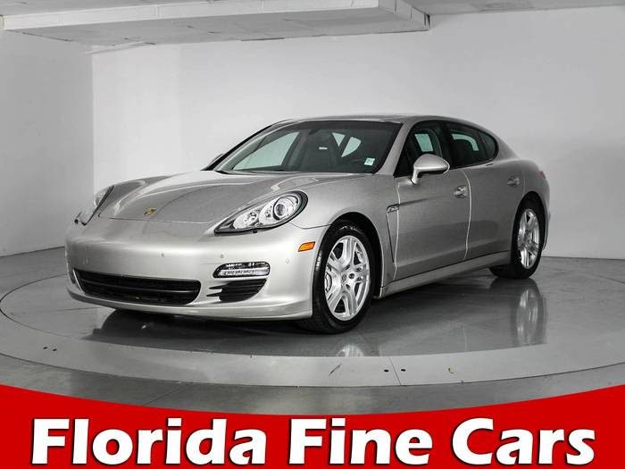 Used PORSCHE PANAMERA 2011 WEST PALM S