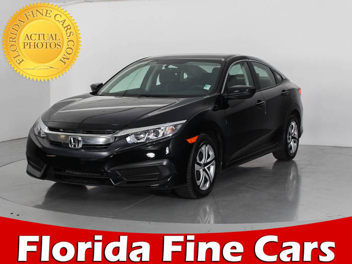 Used HONDA CIVIC 2017 HOLLYWOOD LX
