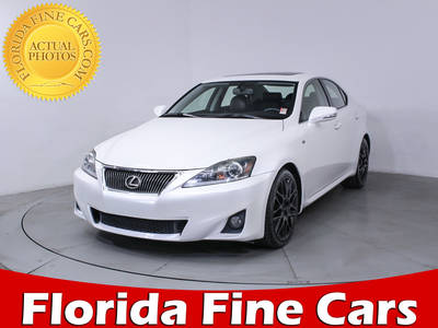 Used LEXUS IS 250 2012 MIAMI