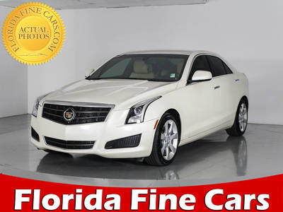 Used CADILLAC ATS 2013 WEST PALM