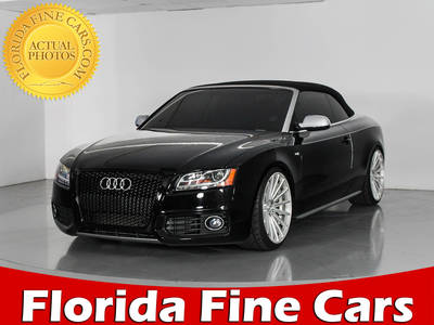 Used AUDI S5 2011 WEST PALM Quattro