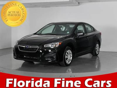 Used SUBARU IMPREZA 2017 WEST PALM 2.0
