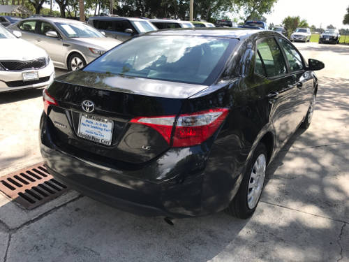 Used TOYOTA COROLLA 2016 WEST PALM LE