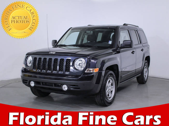 Used JEEP PATRIOT 2016 HOLLYWOOD SPORT