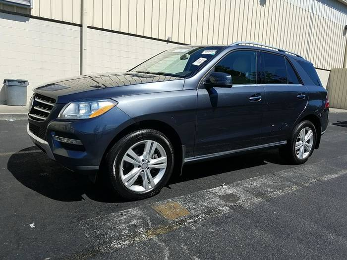 Used MERCEDES-BENZ M CLASS 2014 HOLLYWOOD ML350 4MATIC