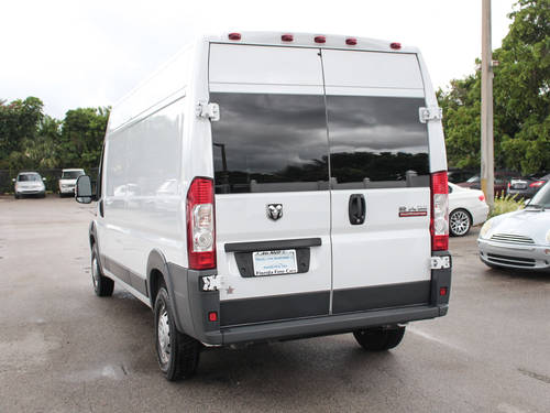 Used RAM PROMASTER 2500 2017 MIAMI HIGH ROOF 159WB