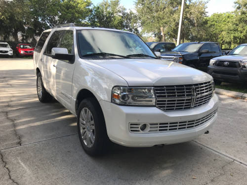 Used LINCOLN NAVIGATOR 2014 WEST PALM