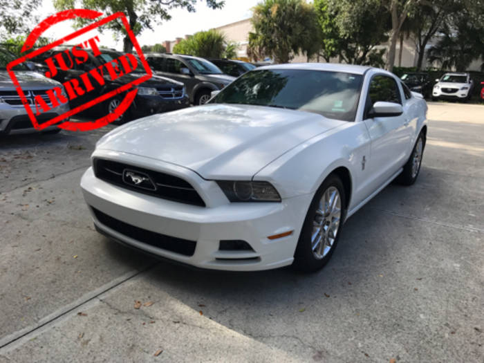 Used FORD MUSTANG 2014 WEST PALM
