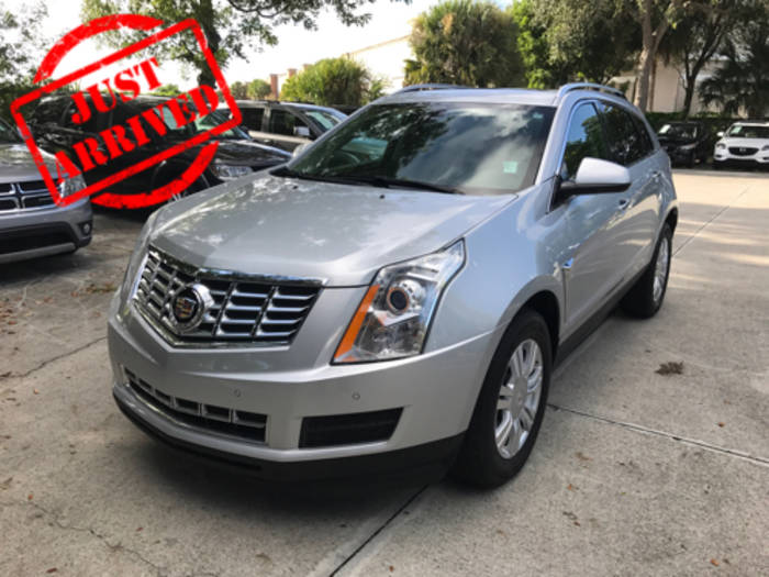 Used CADILLAC SRX 2014 WEST PALM LUXURY