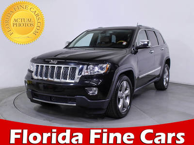Used JEEP GRAND CHEROKEE 2011 MIAMI OVERLAND