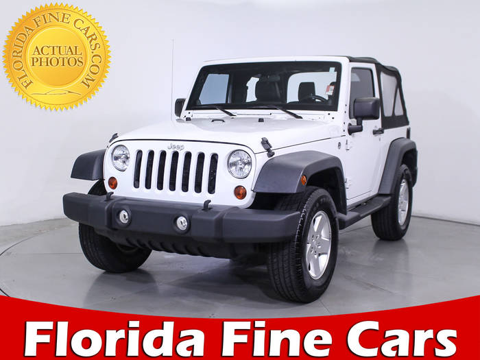 Used JEEP WRANGLER 2012 MIAMI SPORT
