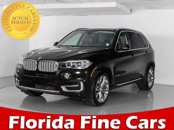 Used BMW X5 2014 WEST PALM SDRIVE35I
