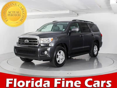 Used TOYOTA SEQUOIA 2014 WEST PALM SR5