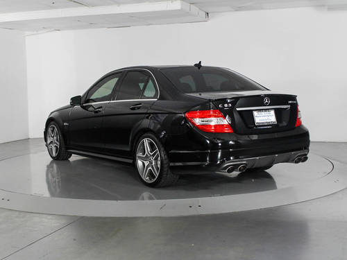 Used MERCEDES-BENZ C CLASS 2011 WEST PALM C63 AMG