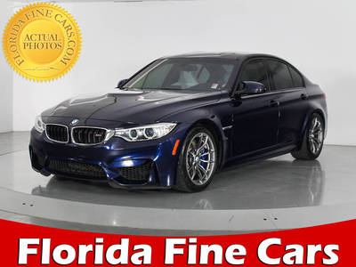 Used BMW M3 2016 WEST PALM