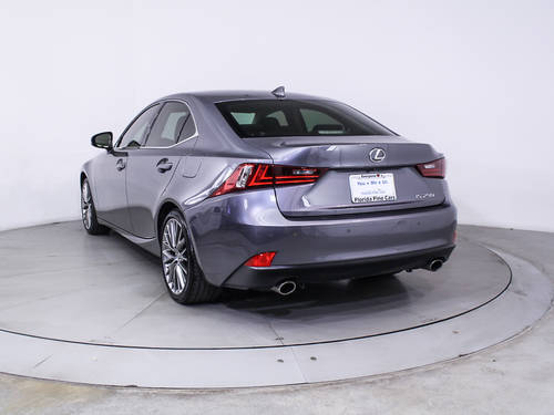 Used LEXUS IS 250 2015 HOLLYWOOD
