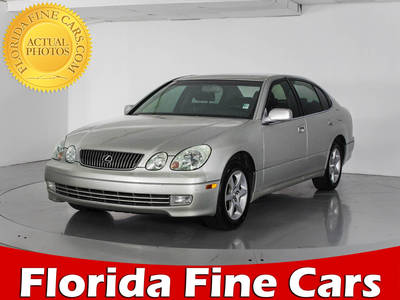 Used LEXUS GS 300 2002 WEST PALM BASE