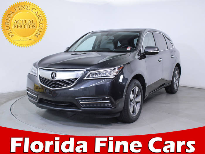 Used ACURA MDX 2014 MIAMI