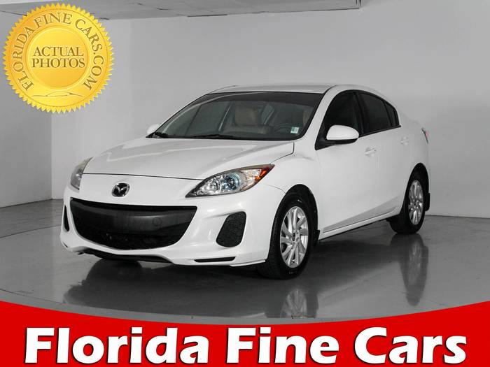 Used MAZDA MAZDA3 2013 WEST PALM I TOURING