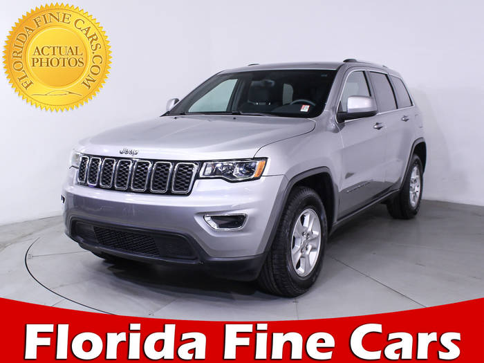 Used JEEP GRAND CHEROKEE 2017 MIAMI LAREDO