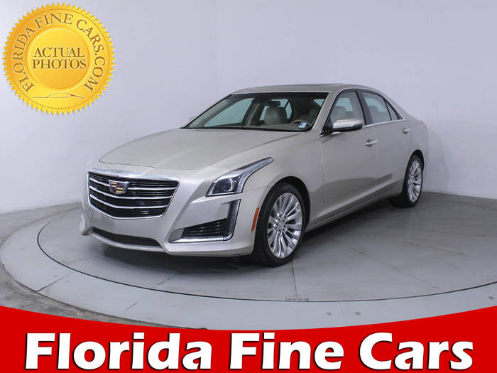 Used CADILLAC CTS 2016 HOLLYWOOD LUXURY