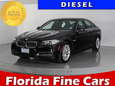 Used BMW 5 SERIES 2014 WEST PALM 535D XDRIVE