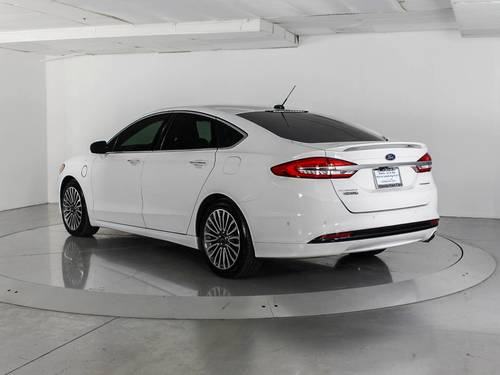 Used FORD FUSION ENERGI 2017 WEST PALM TITANIUM