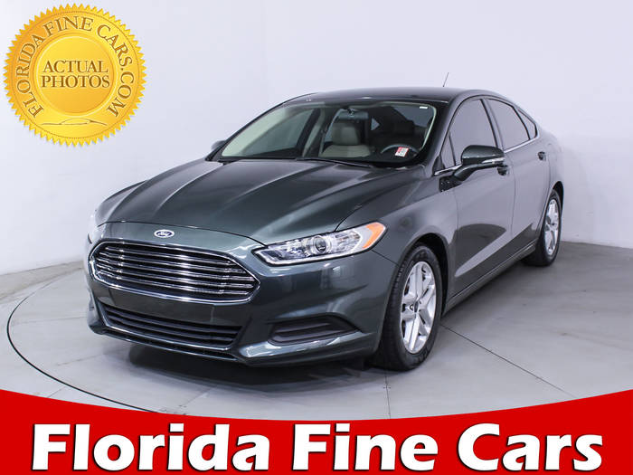 Used FORD FUSION 2015 MIAMI SE