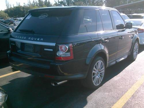 Used LAND ROVER RANGE ROVER SPORT 2012 HOLLYWOOD HSE LUX