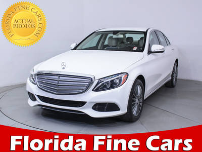 Used MERCEDES-BENZ C CLASS 2015 MIAMI C300 Luxury 4matic