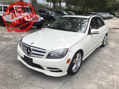 Used MERCEDES-BENZ C CLASS 2011 WEST PALM C300 4MATIC SPORT