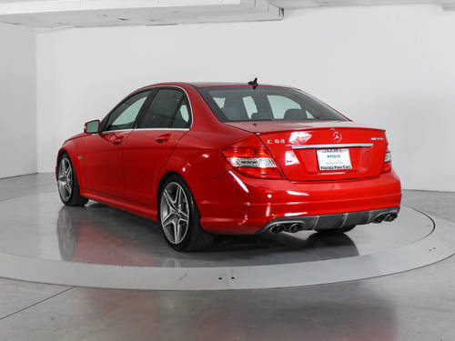 Used MERCEDES-BENZ C CLASS 2010 WEST PALM C63 AMG