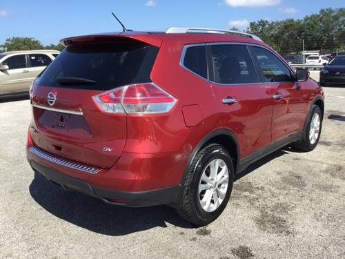 Used NISSAN ROGUE 2016 MIAMI Sv