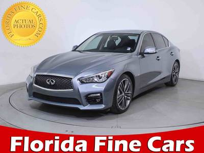 Used INFINITI Q50s 2014 HOLLYWOOD Sport