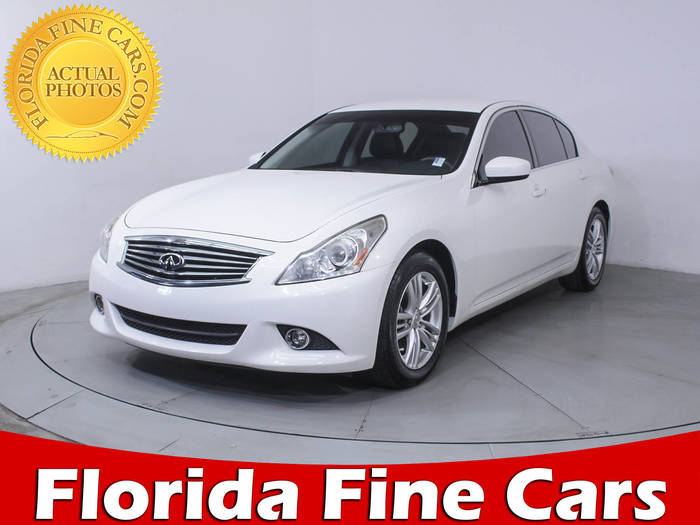 Used INFINITI G37 2013 HOLLYWOOD