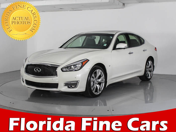 Used INFINITI Q70 2016 WEST PALM