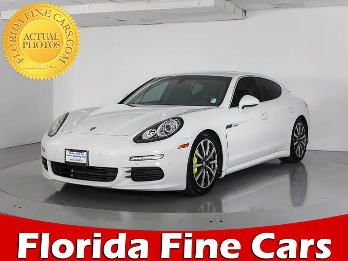 Used PORSCHE PANAMERA 2015 WEST PALM HYBRID S