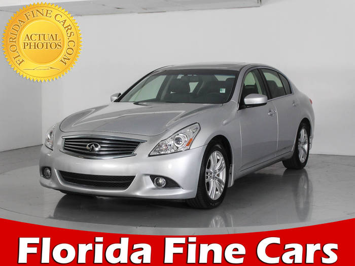 Used INFINITI G37 2013 WEST PALM Journey