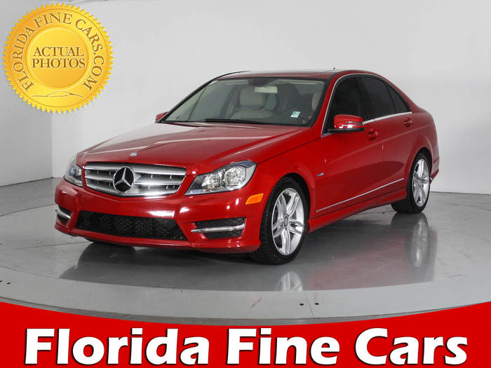 Used MERCEDES-BENZ C CLASS 2012 WEST PALM C250