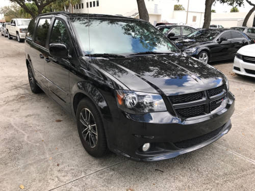 Used DODGE GRAND CARAVAN 2017 WEST PALM GT
