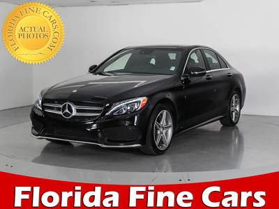 Used MERCEDES-BENZ C CLASS 2016 WEST PALM C300 4matic Sport
