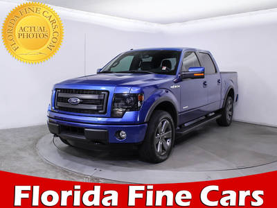 Used FORD F 150 2014 MIAMI Fx4