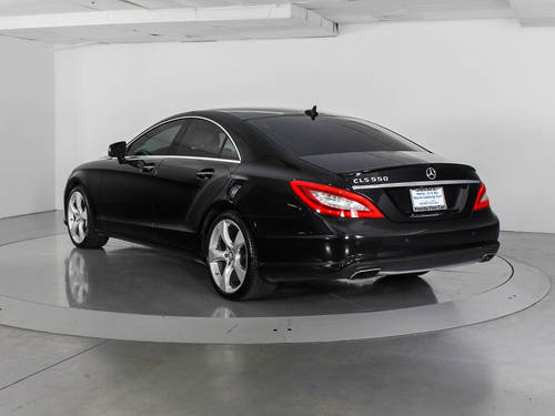 Used MERCEDES-BENZ CLS CLASS 2014 WEST PALM CLS550 DESIGNO EDITION