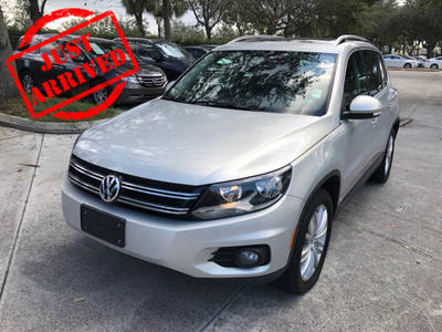 Used VOLKSWAGEN TIGUAN 2013 WEST PALM SE