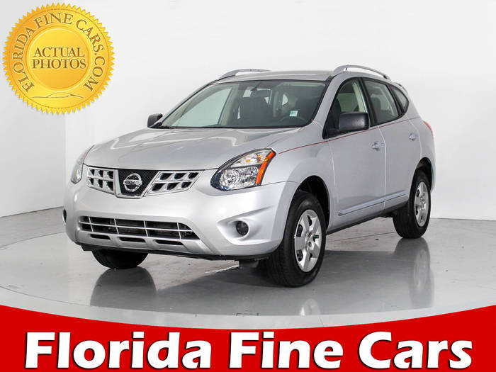 Used NISSAN ROGUE SELECT 2015 WEST PALM S AWD