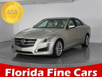 Used CADILLAC CTS 2014 WEST PALM LUXURY