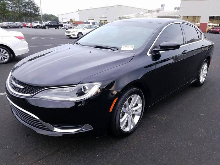Used CHRYSLER 200 2016 WEST PALM LIMITED