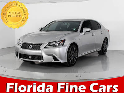 Used LEXUS GS 350 2014 WEST PALM F SPORT