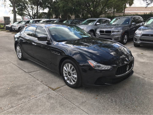 Used MASERATI GHIBLI 2014 WEST PALM